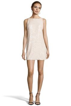 LAMBERT Low Back Shift Dress from Jay Godfrey. SEQUINS   Low Back. $325