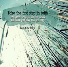 Marthin Luther King #First, #Step