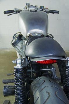 "Moto-Mucci: DAILY INSPIRATION: Modern Metal's 1981 CX500 Custom ""The Twisty Lady"""