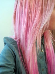 i wish i could dye my whole head this color