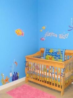 Baby Girls Underwater Nursery