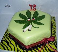 Dorty od Jitky - Fotoalbum - Dorty 2 - S marihuanou Butter Dish, Dishes, Cake, Desserts, Food, Tailgate Desserts, Deserts, Tablewares, Kuchen