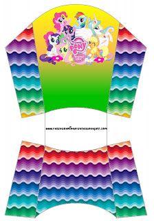 Cajitas imprimibles de My Little Pony 3.