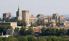 File:Avignon, Palais des Papes depuis Tour Philippe le Bel by JM Rosier.jpg
