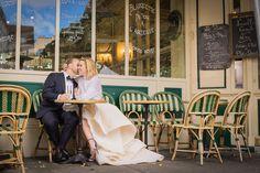 Intimate + Romantic Paris Wedding