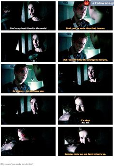 bawling :,( FitzSimmons Agents of Shield
