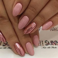 hottest awesome summer nail design ideas for 2019 page 35 homeinspirationss com is part of Soft White nails With Gold - Soft White nails With Gold Dream Nails, Love Nails, Pink Nails, Pretty Nails, Short Nail Designs, Nail Art Designs, Metallic Nails, Nagel Gel, Powder Nails