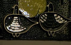 Birger Kaipiainen, detail from large relief (1962) in Stockmann department store, Helsinki Finland Wooden Bird, Vulnerability, Finland, Carving, Ceramics, Retro, Designers, Birds, Glass