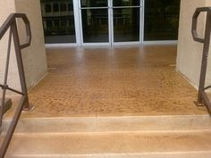 Stained concrete business entry