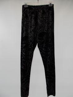 Bryn Walker - Black/Grey Allegra Viscose Jersey Leggings