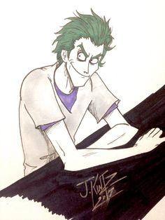 John Doe (joker) from Batman the telltale series in the Asylum Comic Character, Character Design, Batman Telltale, Dc World, The Enemy Within, John Doe, Joker Art, Joker And Harley Quinn, Asylum