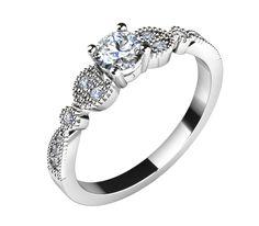 Zásnubní prsten - model LOVE 071
