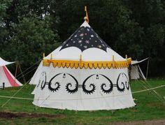 medieval fair tent - Google Search