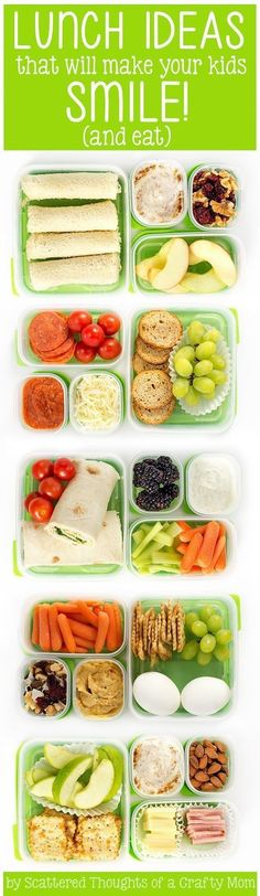 5 Lunch Ideas your kids will eat! #BetterLunchInASnap #sp /rubbermaid/