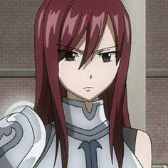 Fairy Tail Girls, Fairy Tail Art, Fairy Tail Ships, Fairy Tail Anime, Anime Art Girl, Anime Girls, Manga Girl, Fairy Tail Erza Scarlet, Jellal And Erza