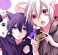 The one on the left looks a bit kyuudere :3