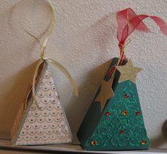 Christmas tree box ornaments