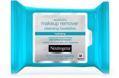 Neutrogena Hydrating Makeup Remover Cleansing Towelettes effectively dissolve all traces of dirt, oil and make-up - even waterproof mascara - for clean, fresh skin in one easy step. Neutrogena Makeup Remover, Best Makeup Remover, Makeup Remover Wipes, Makeup Wipes, Makeup Removers, Waterproof Mascara, Facial Cleansing, Best Makeup Products, Beauty Products