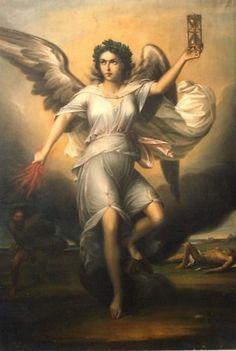 Némésis (Gr. Νεμεσις) était la déesse de la Vengeance et de la Justice distributive (à chacun son dû). Selon Hésiode, Némésis était la fille de la Nyx par parthénogénèse; suivant d'autres auteurs, elle était la fille d'Erèbe, ou d'Océan  ou de Dikè, la Justice.
