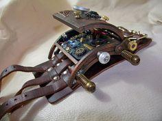 Steampunk Vortex Manipulator by dtbt on DeviantArt Steampunk Watch, Steampunk Fashion, Sonic Screwdriver, Arms Race, Steampunk Accessories, Steam Punk, Canon, Aircraft, Cosplay