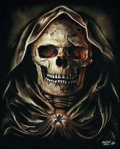 ... Cloaked Skull ...
