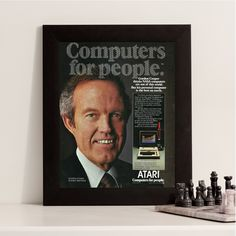 New to RetroPapers on Etsy: Atari Computer   Atari: Computers For People   1980s PC Retro Technology & Gaming Decor   80s For Game Room or Office Techie   Unique NASA (6.99 USD)