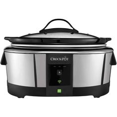 The Crock-Pot Smart Slow Cooker is WeMo enabled and works with your smart device to let you conveniently adjust cook settings... from virtually anywhere. It lets you connect and cook with the flexibil