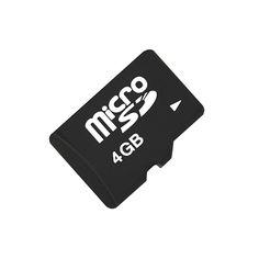 Tarjeta microsd de 4gb clase 4