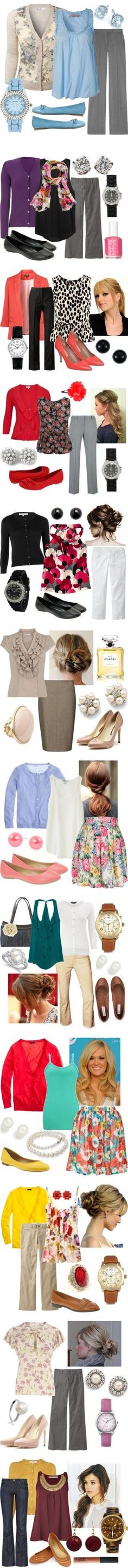 "cute ideas for springtime ""Teaching Outfits"" by qtpiekelso on Polyvore"