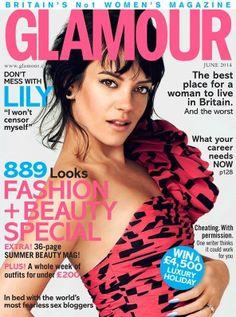 Glamour Magazine United Kingdom June 2014