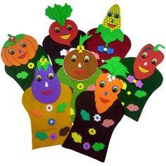 Maternal - Tema 2 - fantoches das frutas