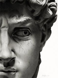 David by Michelangelo • 1504 • details; Carrara marble • Florence #David #Michelangelo #art
