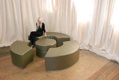 Lounge designed by Janna M. Phillips for Bohmod.com