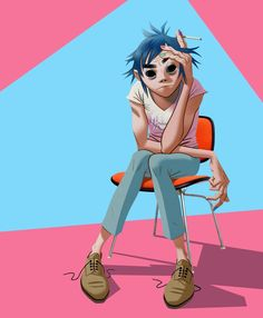 2D is cooler than I will ever be in my entire lfie