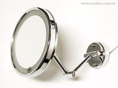 壁掛型伸縮燈鏡/衛浴鏡/單面5倍鏡 Shop Smart, Cufflinks, Mirror, Accessories, Shopping, Home Decor, Decoration Home, Room Decor, Mirrors
