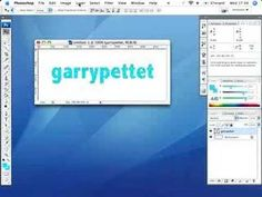 Photoshop Tutorial: Creating Outlined Text