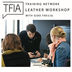 Coming up next Friday May 6th! Our 2 part Leather Workshop with Gido Theilig kicks off next week  Make the most of this rare opportunity to up-skill and refresh your knowledge of Leather from types and terminology through to production & manufacturing processes & finishes. Secure your place via our eventbrite page!