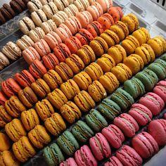 Patisserie Madeleine #macarons yum! #stockbridgeedinburgh #stockbridge #edinburgh #scotland