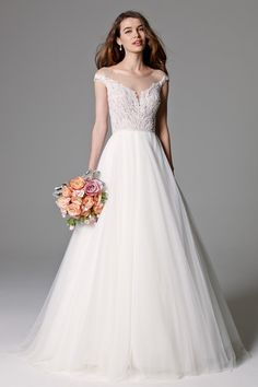 Watters Brides Skye Gown (unlined) Style 8092B | Watters.com now available at #jennifersbridal