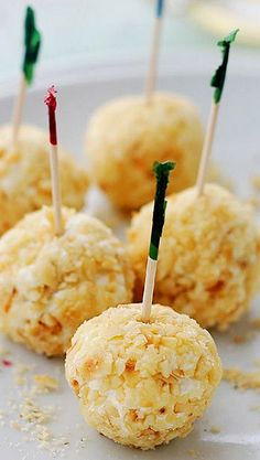 Feta Cheese-Covered Olives