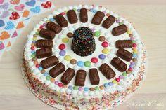 Torta biscotti e cioccolatini (senza forno)