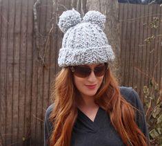 Eugenia Kim Mimi Pom Pom Hat [knitting pattern] |Gina Michele