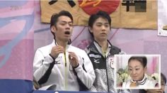 They were rooting for Mao Asada.   NHK Trophy 2012