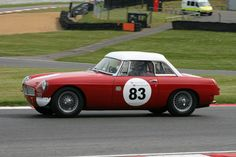 The May Bank Holiday weekend saw Jack Rawles racing an MGB for the first time