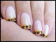 Simple nail print