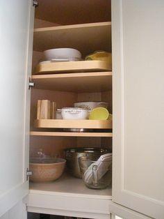Cabinet Organization and storage ideas-Snappy Kitchens Dallas, TX