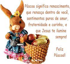 Mensagem de Páscoa.