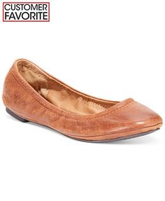 Lucky Brand Emmie Flats - IN BOMBAY AND CAYENNE