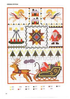 Cross stitch Christmas Charts, Christmas Stocking Pattern, Cross Stitch Christmas Ornaments, Christmas Embroidery, Christmas Cross, Merry Christmas, Christmas Images, Cross Stitching, Cross Stitch Embroidery