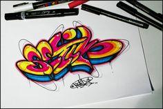 Best Sketch Graffiti Blackbooks Collection from Artist